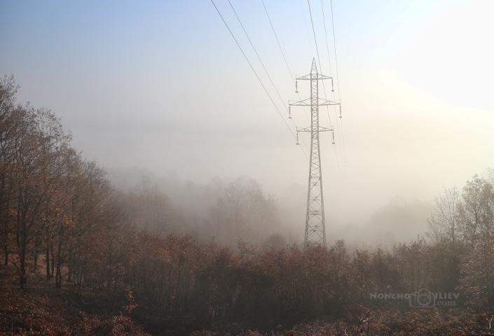 Жици през мъглата