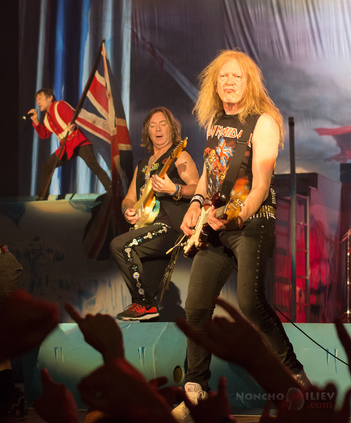 Iron Maiden - Janick Gers, Dave Murray, Bruce Dickinson