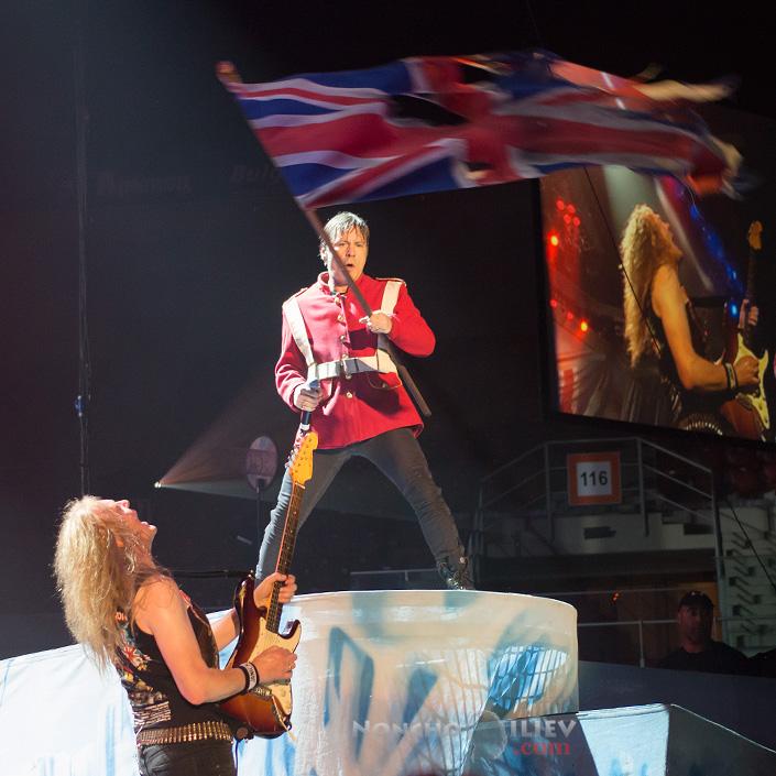 Iron Maiden - Janick Gers, Bruce Dickinson