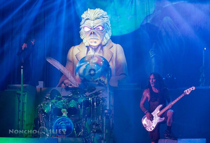 Iron Maiden - Steve Harris, Eddie