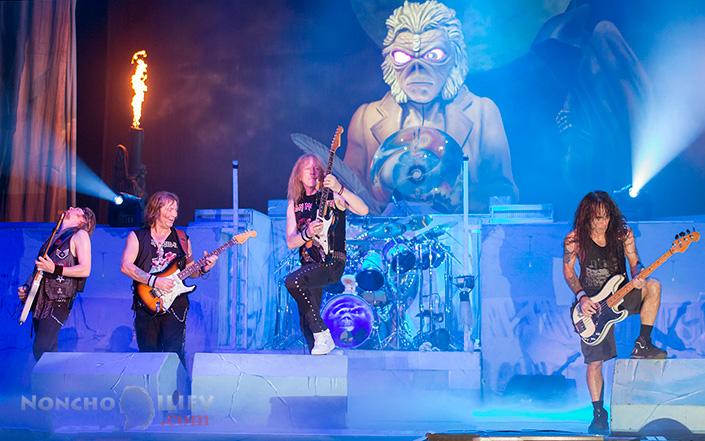 Iron Maiden guitars - Janick Gers, Dave Murray, Steve Harris, Adrian Smith