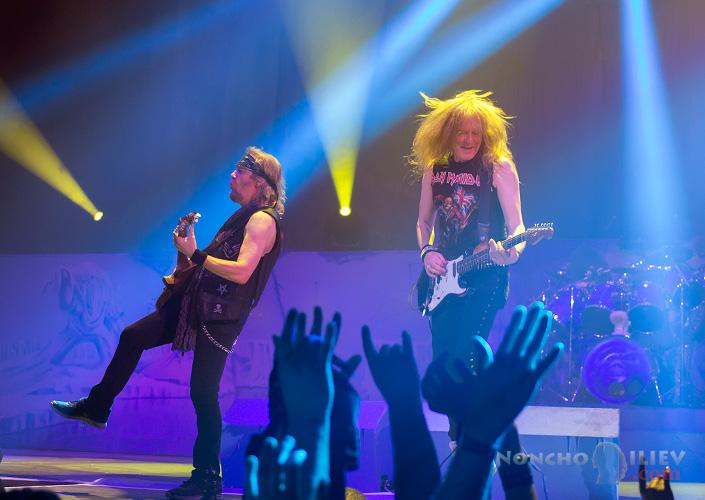 Iron Maiden guitars - Janick Gers, Adrian Smith