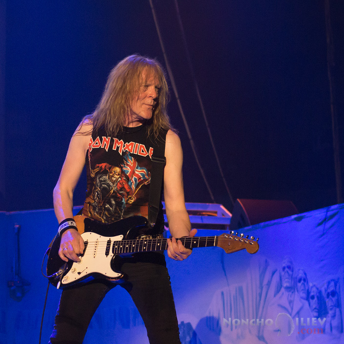 Iron Maiden - Janick Gers