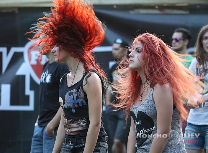 Rockstadt red hair headband