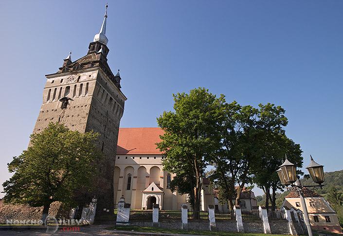 Saschiz укрепена църква