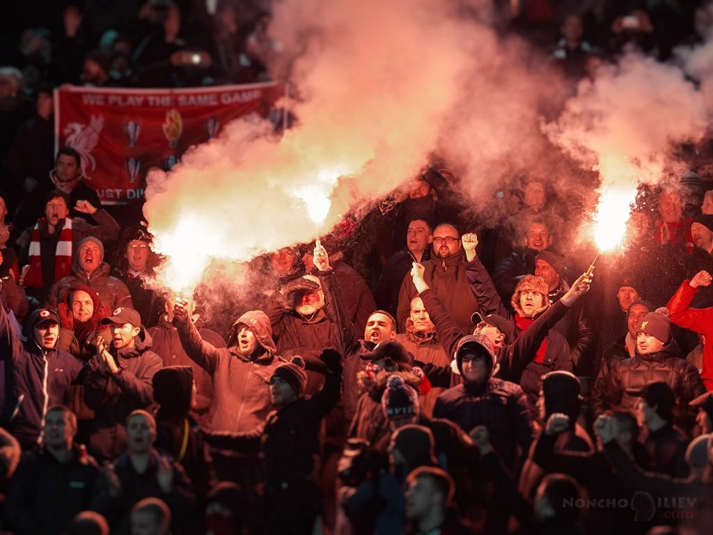 Ludogorec - Liverpool audience