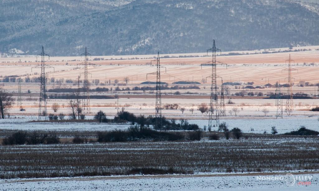 софийско поле, зима, подбалкански път