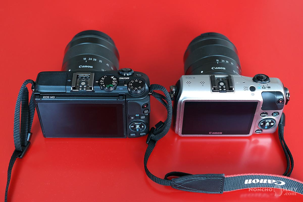 Canon EOS M1 M3