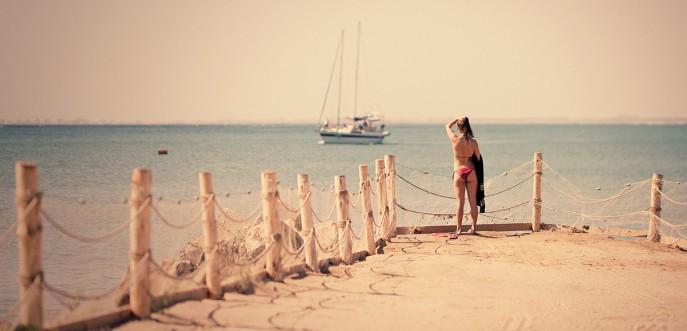 плаж кей лодка море слънце