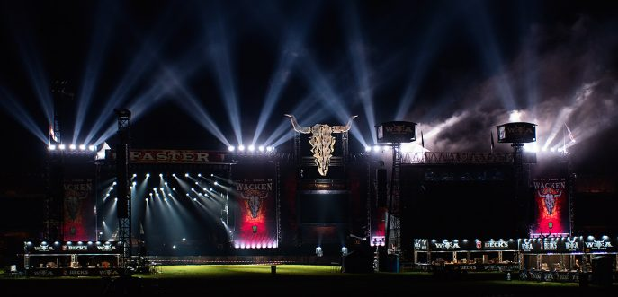 Wacken Open Air 2017 night