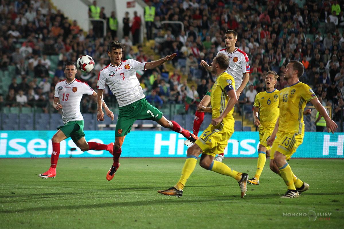 България Швеция гол Костадинов